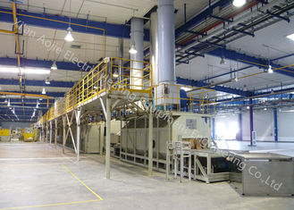 Electric Heating Aluminum Continuous Brazing Furnace Low Energy Consumption