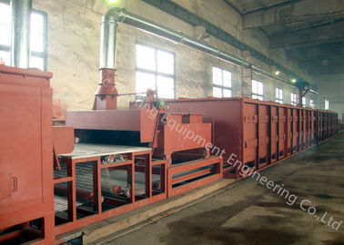 Electric Heating Aluminum Brazing Furnace , Fireproof Furnace Brazing Equipment